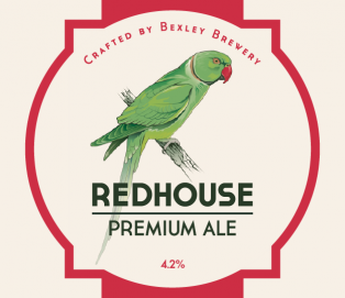 REDHOUSE PREMIUM ALE – 4.2% <br /> Cask and 500ml bottle