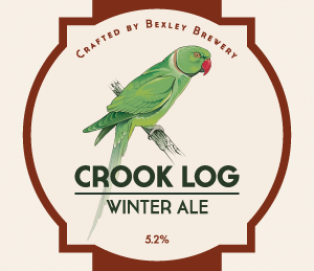 FOUR SEASONS RANGE &#8211;  <br />Crook Log, Winter Ale 5.2%<br /> CASK &#038; BOTTLE