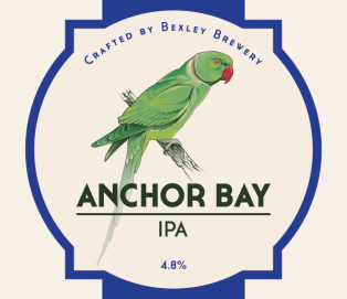 Anchor Bay IPA 4.8%  <br /> Cask and 500ml bottle