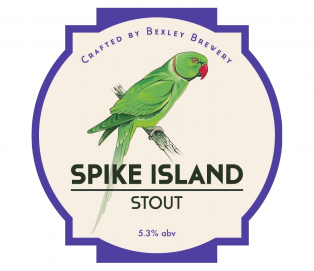 Spike Island Stout 5.3%  <br /> Cask and 500ml bottle